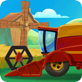 Funny Cars for Kids icon