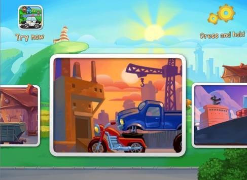 Funny Cars for Kids screenshot 10