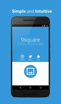 9square for Instagram poster
