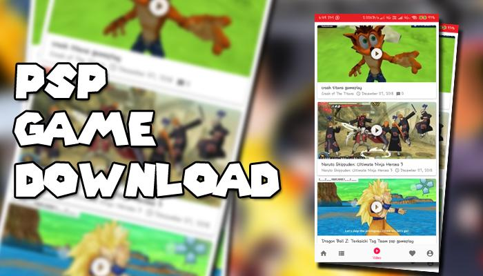 PSP Game Download - Emulator - ISO Game - Premium for Android - APK