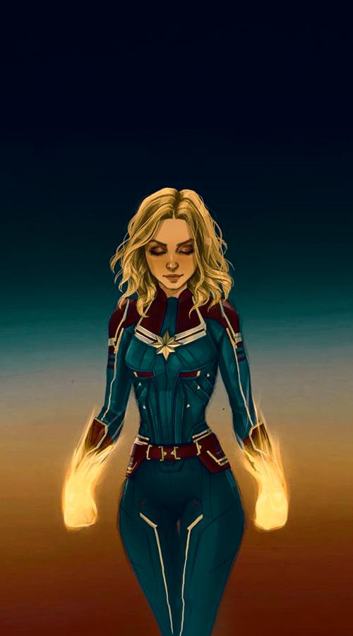 Super Cool Captain Marvel Wallpaper For Android Apk Download