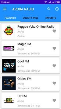 Aruba Radio App Stations poster