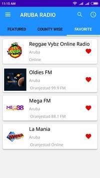 Aruba Radio App Stations screenshot 4