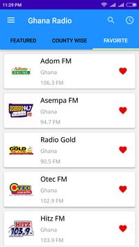 Ghana Radio Live Online screenshot 4