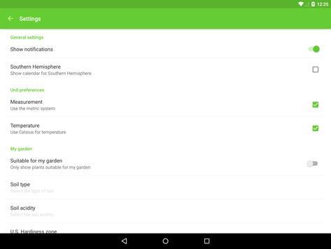 Gardroid screenshot 11