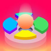 Hoop Smash 2019 – Helix Ball Jump game icon