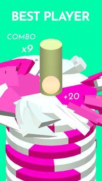 Hoop Smash 2019 – Helix Ball Jump game screenshot 3