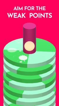 Hoop Smash 2019 – Helix Ball Jump game poster