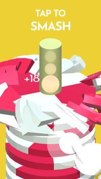 Hoop Smash 2019 – Helix Ball Jump game screenshot 1