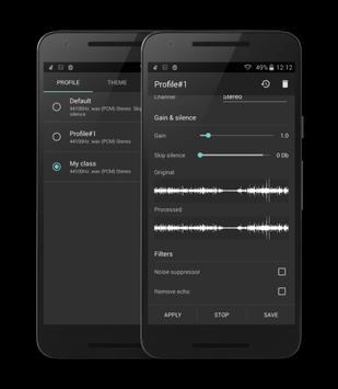 Recordr screenshot 2
