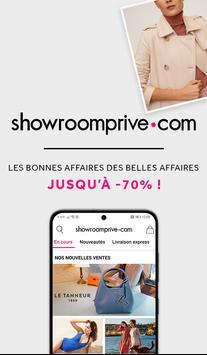 Showroomprivé - Ventes privées de grandes marques. Affiche