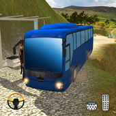 Mountain Bus Uphill Climb Driving Simualtor icon