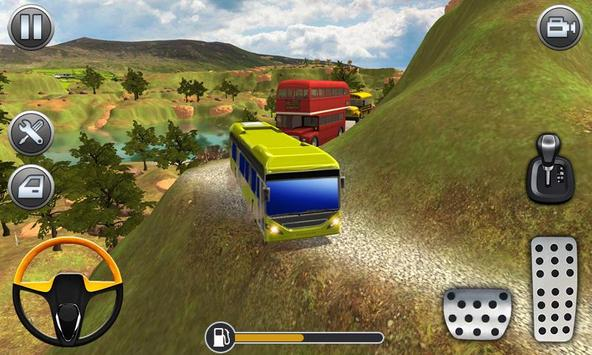Mountain Bus Uphill Climb Driving Simualtor screenshot 2