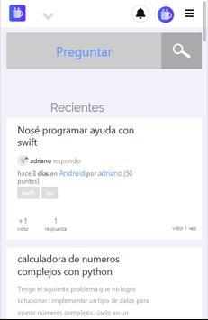 Holacodigo - programacion y red social screenshot 2