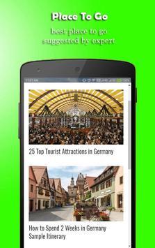 Holiday Ideas Germany screenshot 1