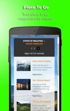 Holiday Ideas Negeri Sembilan screenshot 1