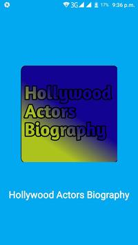 hollywood Actors Biography poster