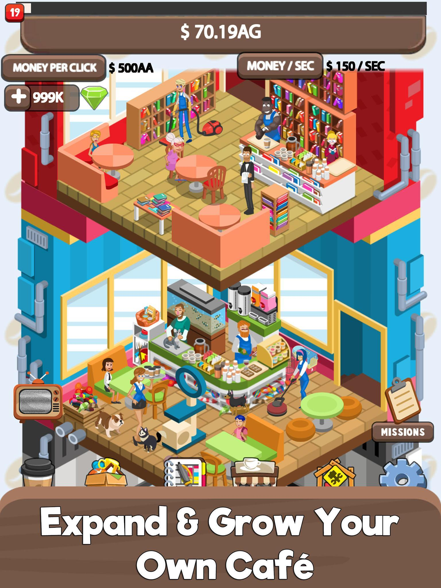 Idle Cafe Tycoon for Android - APK Download