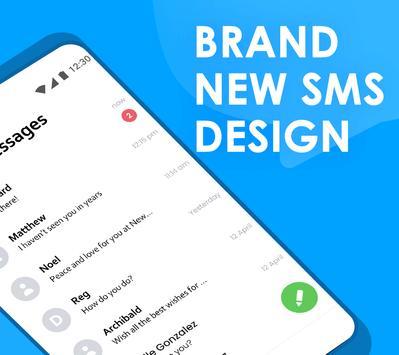 Quick SMS Launcher imagem de tela 1