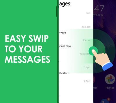 Quick SMS Launcher imagem de tela 2
