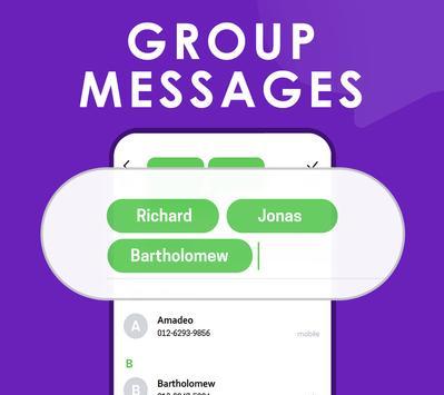 Quick SMS Launcher imagem de tela 3