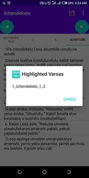 Chi Bemba Bible free offline easy accessible text screenshot 5