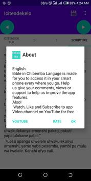 Chi Bemba Bible free offline easy accessible text screenshot 6