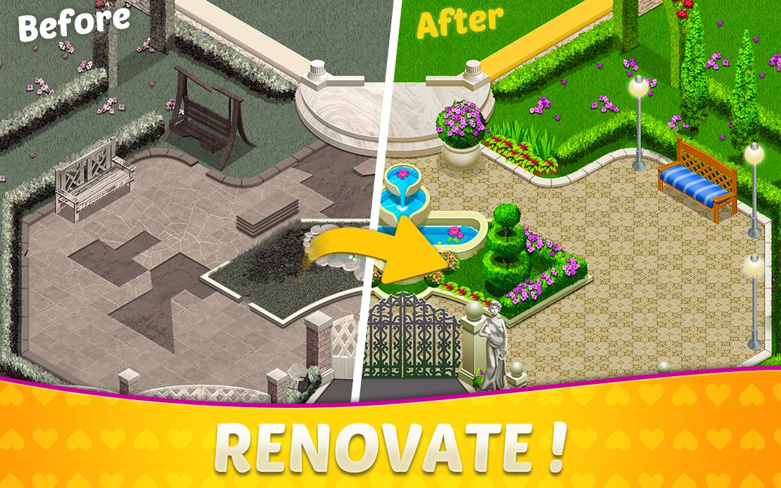 Home Design Mansion Decorating Games Match 3 For Android
