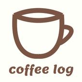 coffee log icon