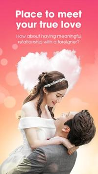 HoneyBaby - Let's talk and date with Korean poster