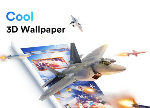 ME Launcher - 3D Wallpaper, Themes, Fast poster
