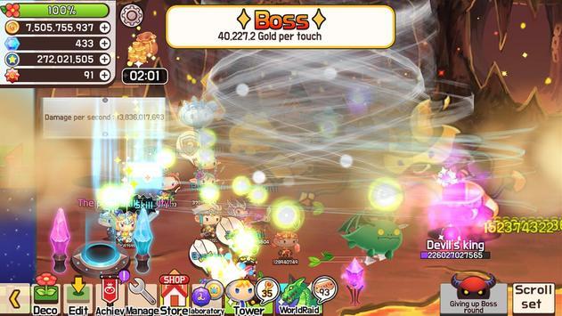 Tap Town Premium (idle RPG) - Magic screenshot 5