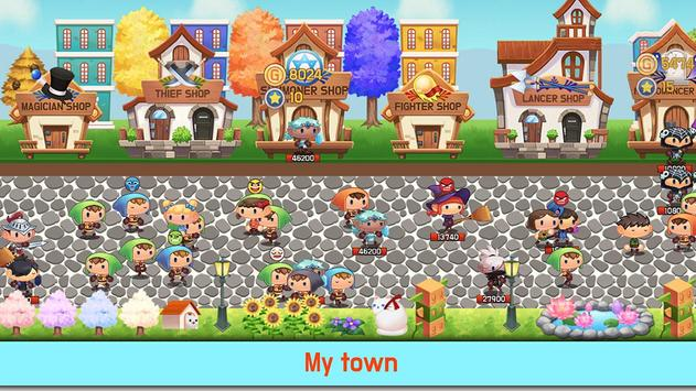 Tap Town Premium (idle RPG) - Magic poster