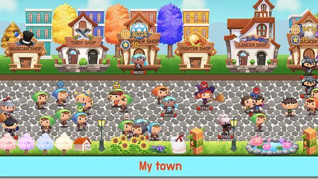 Tap Town Premium (idle RPG) - Magic screenshot 14