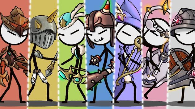 Legend of the cartoon - idle RPG تصوير الشاشة 10