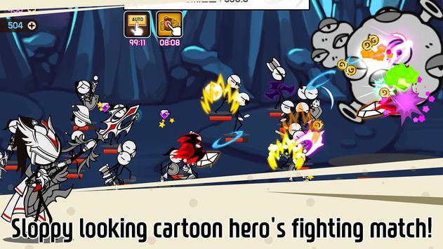 Legend of the cartoon - idle RPG تصوير الشاشة 11