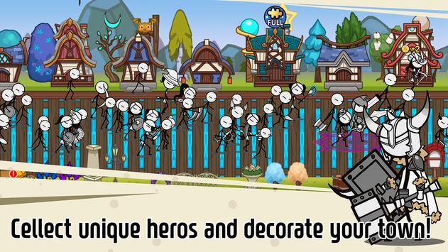 Legend of the cartoon - idle RPG تصوير الشاشة 12