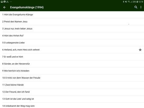 Evangeliumsklänge screenshot 6