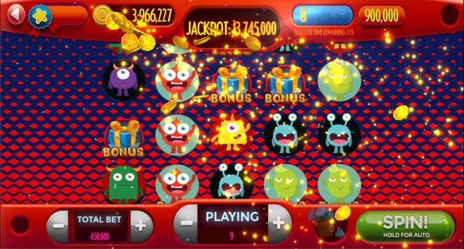 Android-Super Monster Vegas Slots screenshot 3