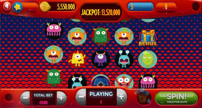 Android-Super Monster Vegas Slots screenshot 4