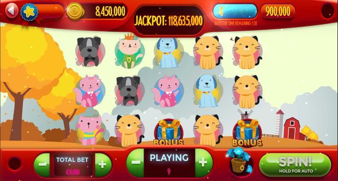 Dog-Cat Free Slot Machine Game Online screenshot 7