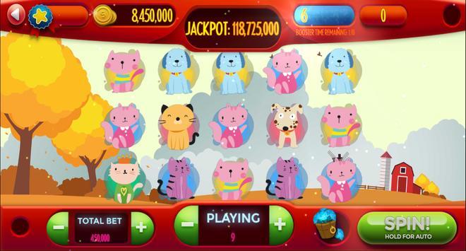 Dog-Cat Free Slot Machine Game Online screenshot 15