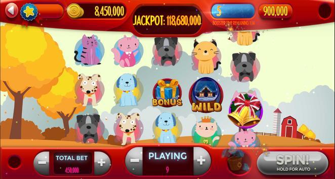 Dog-Cat Free Slot Machine Game Online screenshot 3