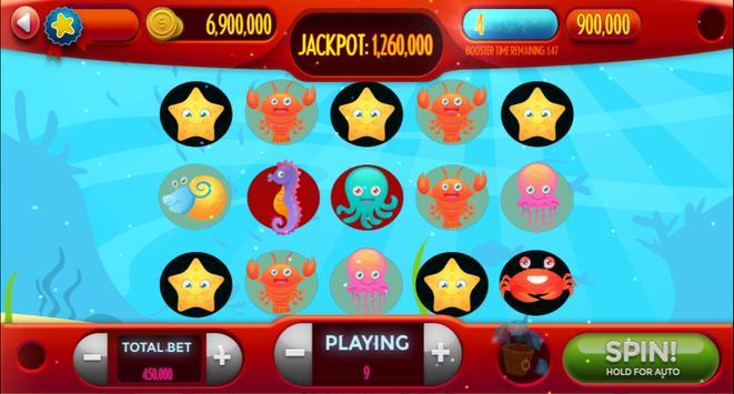 My-Collection Saltwater Reef Fish Casino Slot Game screenshot 6