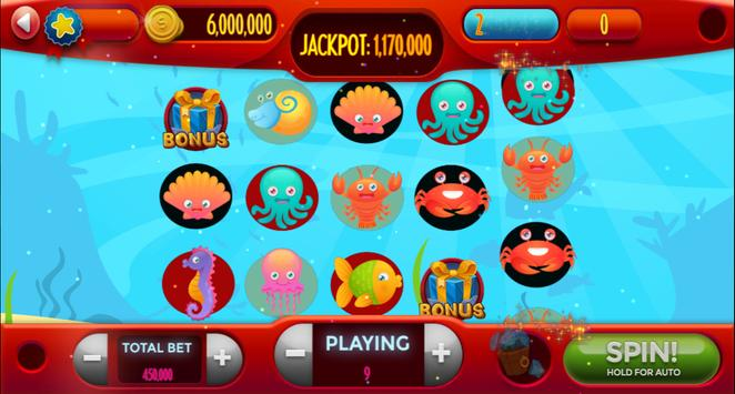 My-Collection Saltwater Reef Fish Casino Slot Game poster