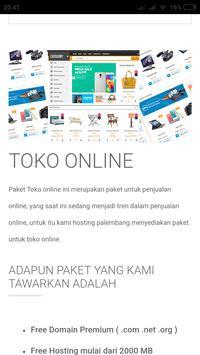 Hosting Palembang screenshot 4
