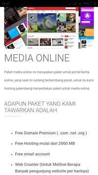 Hosting Palembang screenshot 5
