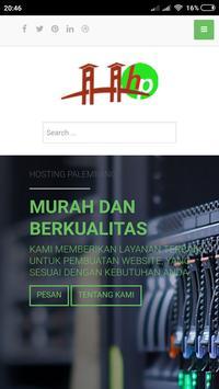 Hosting Palembang poster