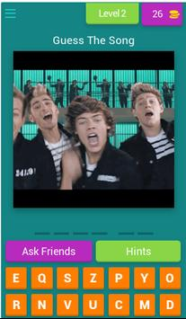 Guess The Song by One Direction screenshot 2