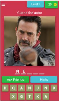 Guess The Actor From The Walking Dead poster
